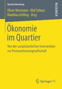 Cover Ökonomie im Quartier