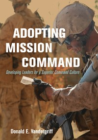 Cover Adopting Mission Command