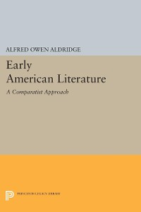 Cover Early American Literature