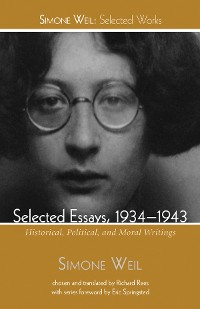 Cover Selected Essays, 1934–1943