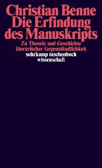 Cover Die Erfindung des Manuskripts