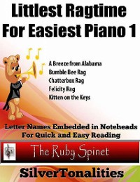 Cover Littlest Ragtime for Easiest Piano 1