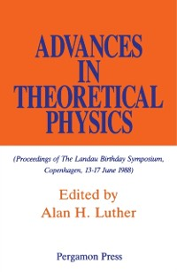 Cover Advances in Theoretical Physics