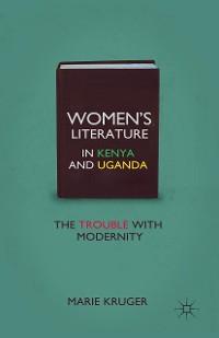 Cover Women's Literature in Kenya and Uganda