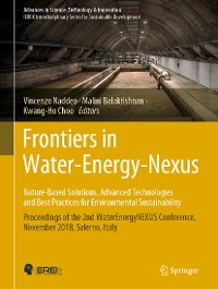 Cover Frontiers in Water-Energy-Nexus—Nature-Based Solutions, Advanced Technologies and Best Practices for Environmental Sustainability