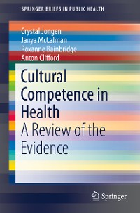 Cover Cultural Competence in Health