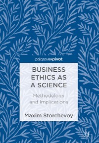 Cover Business Ethics as a Science