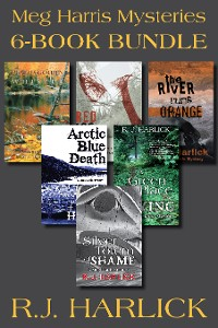 Cover Meg Harris Mysteries 6-Book Bundle