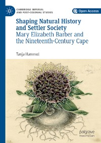 Cover Shaping Natural History and Settler Society