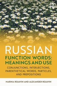 Cover Russian Function Words: Meanings and Use