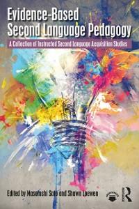 Cover Evidence-Based Second Language Pedagogy