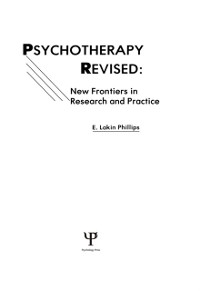 Cover Psychotherapy Revised