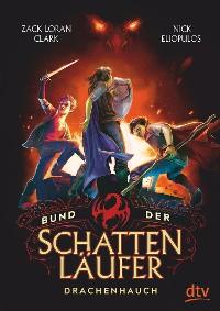 Cover Bund der Schattenläufer – Drachenhauch