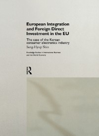 Cover European Integration and Foreign Direct Investment in the EU