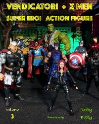 Cover Vendicatori + X Men