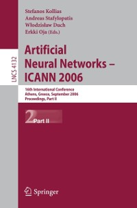 Cover Artificial Neural Networks - ICANN 2006