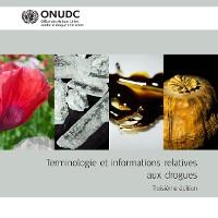 Cover Terminologie et informations relatives aux drogues