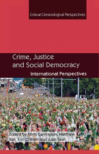 Cover Crime, Justice and Social Democracy
