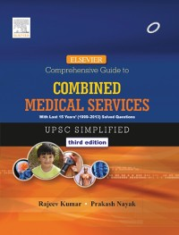 Cover Elsevier Comprehensive Guide to Combined Medical Services (UPSC) - E-Book