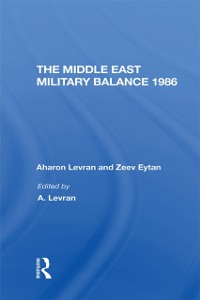 Cover Middle East Military Balance 1986