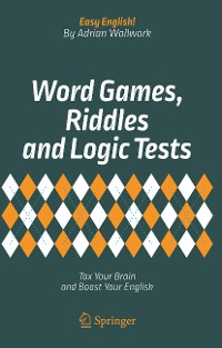 Cover Word Games, Riddles and Logic Tests