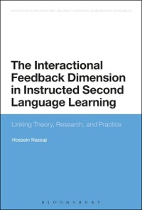 Cover Interactional Feedback Dimension in Instructed Second Language Learning