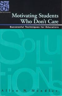 Cover Motivating Students Who Don't Care