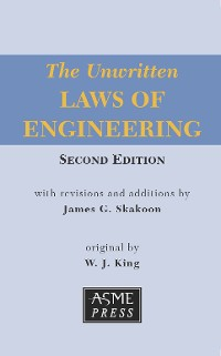 Cover The Unwritten Laws of Engineering