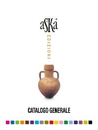 Cover Aska edizioni - Catalogo generale