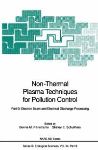 Cover Non-Thermal Plasma Techniques for Pollution Control