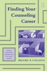 Cover Finding Your Counseling Career