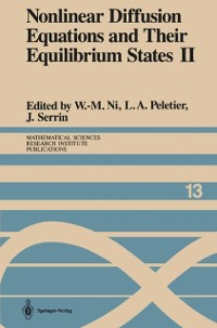 Cover Nonlinear Diffusion Equations and Their Equilibrium States II