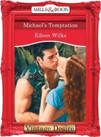 Cover Michael's Temptation (Mills & Boon Desire)