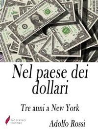 Cover Nel paese dei dollari