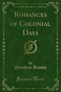 Cover Romances of Colonial Days