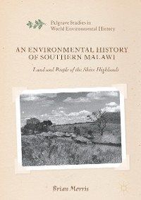 Cover An Environmental History of Southern Malawi