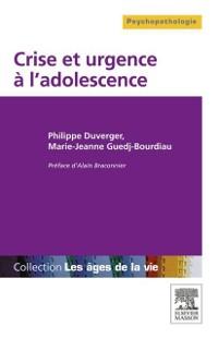 Cover Crise et urgence a l'adolescence
