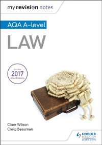 Cover My Revision Notes: AQA A-level Law