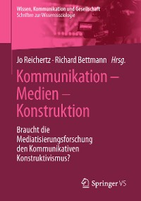 Cover Kommunikation – Medien – Konstruktion