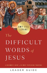 Cover The Difficult Words of Jesus Leader Guide