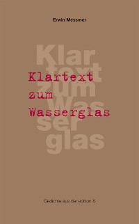 Cover Klartext zum Wasserglas