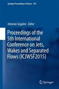 Cover Proceedings of the 5th International Conference on Jets, Wakes and Separated Flows (ICJWSF2015)