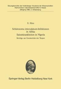 Cover Schistosoma intercalatum-Infektionen in Afrika Saisonkrankheiten in Nigeria