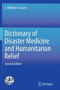 Cover Dictionary of Disaster Medicine and Humanitarian Relief