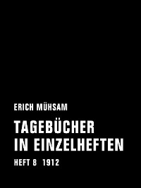 Cover Tagebücher in Einzelheften. Heft 8