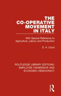 Cover Co-operative Movement in Italy