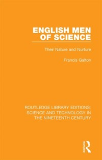 Cover English Men of Science