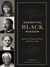 Cover Essential Black Wisdom