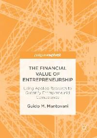 Cover The Financial Value of Entrepreneurship