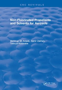 Cover Non-Fluorinated Propellants and Solvents for Aerosols